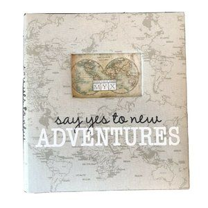 "13"" x 13"" Make Your Mark ""Say Yes To New Adventure"